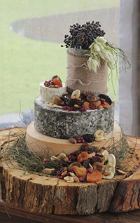 Petals With Passion - Wedding Cheese Cake